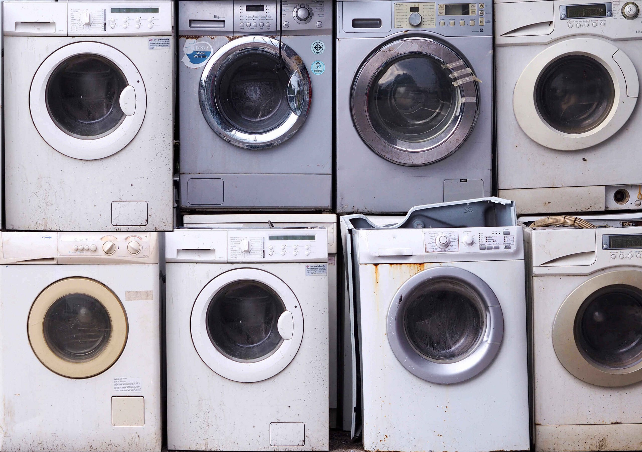 Washing Machine and Dryer Removal